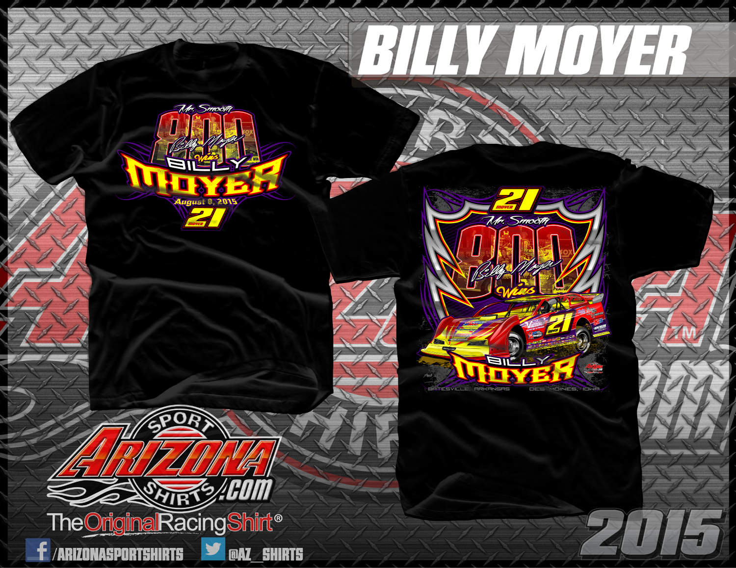 Dirt late model arizona sport shirts the original race for Racing t shirts custom