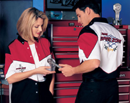 Auto Racing  Crew Apparel on Hilton Apparel   H42 Pit Crew Racing Shirt Catalog Page